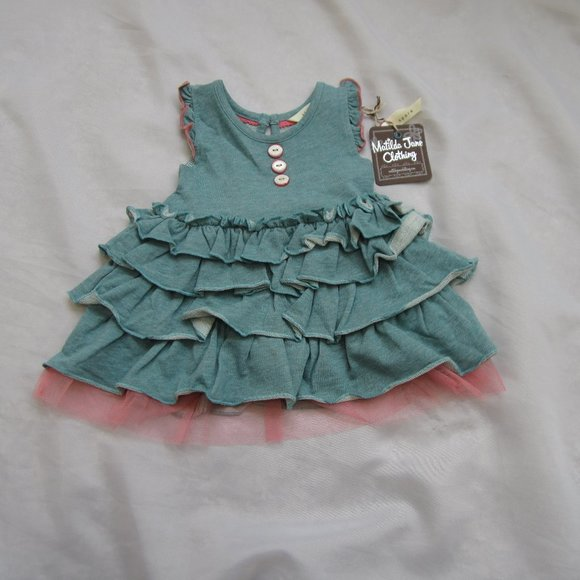 Matilda Jane 3 6 Month NWT Tulle Tiered Dress